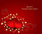 Elegant Valentine Day Background — Stok Vektör