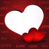 Elegant Valentine Day Background — Stock Vector