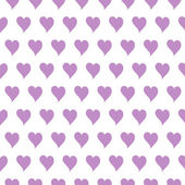 Original small hearts seamless pattern or background — Stock Vector