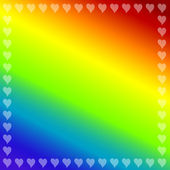 Rainbow color background — Vector de stock