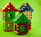 Puzzle house — Stock Photo