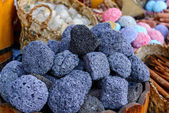 Pumice stone. Selective focus — Stock Photo