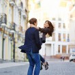Young happy couple enjoying each other — Stock Photo #48277041