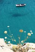 船在海中 — 图库照片