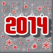 2014 Happy New Year card — Stock Vector #35126125