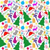 新年快乐模式 — 图库矢量图片