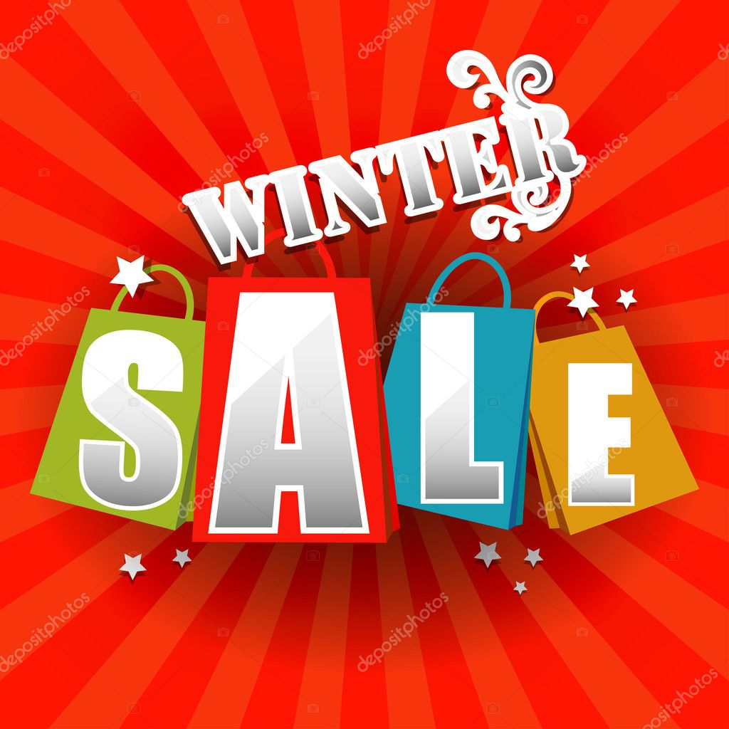 Winter Sale poster with percent discount – Stock Illustration: depositphotos.com/35127297/stock-illustration-winter-sale-poster...