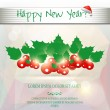 Happy New Year card — Stock Vector