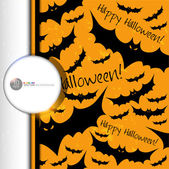 Halloween grunge vector pattern. — Stock Vector