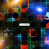 Bright abstract background — Vector de stock