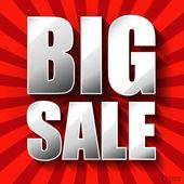 Affiche de la grande vente. — Vecteur