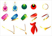 Set of jewelery. — Stock Vector