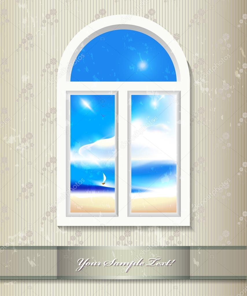Фон окна
