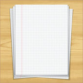 Sells notebook papers — Wektor stockowy