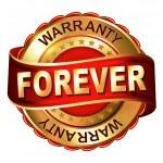 Постер, плакат: Forever warranty