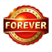 Forever warranty — Stock Vector