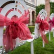 Stock Photo: Wedding chairs
