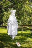свадебный наряд — Стоковое фото