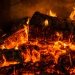 The fire — Stock Photo