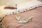 Shoes bride — Foto de Stock