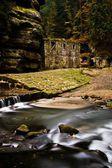 Fall river — Stock Photo