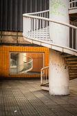 Spiral stairway case — Stock Photo