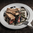 Soy meat with vegetables — ストック写真