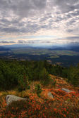 Mountain panorama — Foto Stock