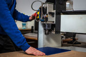 Milling and engraving machine — Stock Photo