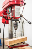 Pillar drilling machine — Stock Photo