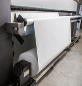 Large format printer — Stock Photo