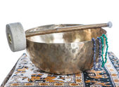 Tibetan bowl — Stock Photo