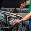 Stockfoto: Oil change