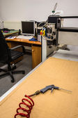 Milling and engraving machine — Stockfoto
