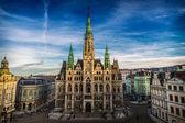 Liberec Town Hall — Stock Photo