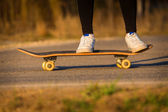 Skateboarding — Stock Photo