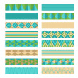 Tapes. Set of ribbon banners. — Stock Vector #40985407