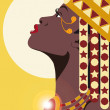 AFRICAN PRINCESS — Stock Photo