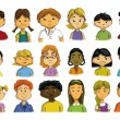 MULTICULTURAL CHILDREN — Stock Photo
