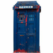Police box — Stock Photo