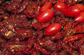 Sundried cherry tomatoes — Stock Photo