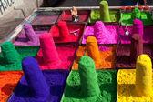 Colorful powders — Photo