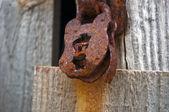 Rouillé ancien cadenas — Photo