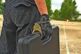 Precious briefcase — Stock Photo