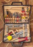 Uppsättning av vvs-verktyg — Stockfoto