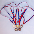 Award medal sport Olympiad — Stock Photo #37274477