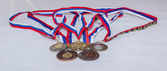 Award medal sport Olympiad — Stock Photo