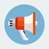 ícone de megafone — Vetorial Stock