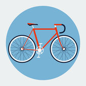 Bicycle Illustration — Stockvector