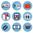 Shopping icons, set 2 — Stock Vector #51026555